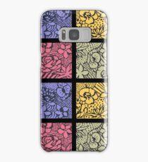 Flower Stencils Samsung Galaxy Case/Skin