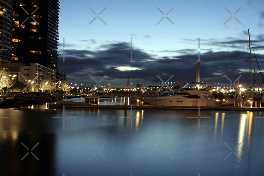 Docklands Reflected by JHP Unique and Beautiful Images