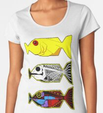 The Hitchhikers Guide to the Galaxy - 3 Babel Fish Women's Premium T-Shirt