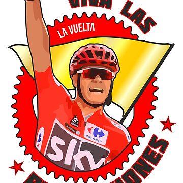 Viva Las Revoluciones - Chris Froome La Vuelta by CycloBuzz