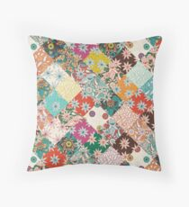 sarilmak patchwork Throw Pillow