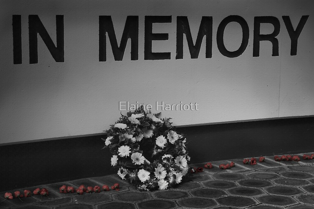 In Memory by Elaine Harriott