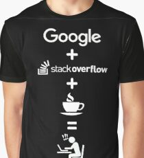 Life of a Software Developer Graphic T-Shirt