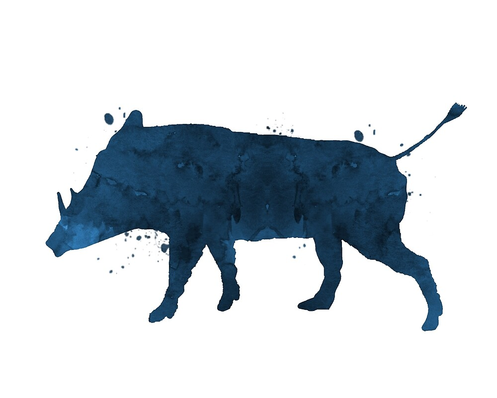 A warthog by TheJollyMarten