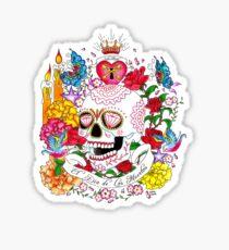 El Dia de Los Muertos Sticker