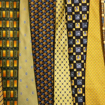 Load of Ties - Yellow 2 by ILoveTheQuirky