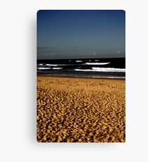 Nobbys Beach Canvas Print