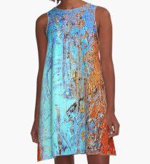Texturen - Textures - part I - colorful A-Linien Kleid