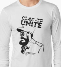 ClapTrap Fidel Castro - Borderlands (New Robot Revolution) Long Sleeve T-Shirt