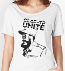ClapTrap Fidel Castro - Borderlands (New Robot Revolution) Women's Relaxed Fit T-Shirt