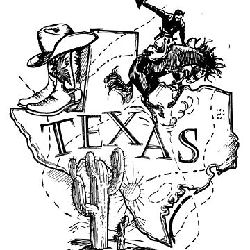 Texas state - were my heart is by CasualMood
