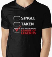 League of Legends Men's V-Neck T-Shirt