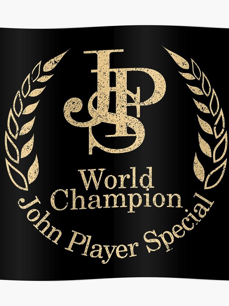 Vintage Sign Designs John Player Special Equipo Lotus Calidad Letrero de Metal