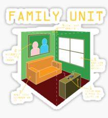 Family Unit Sticker