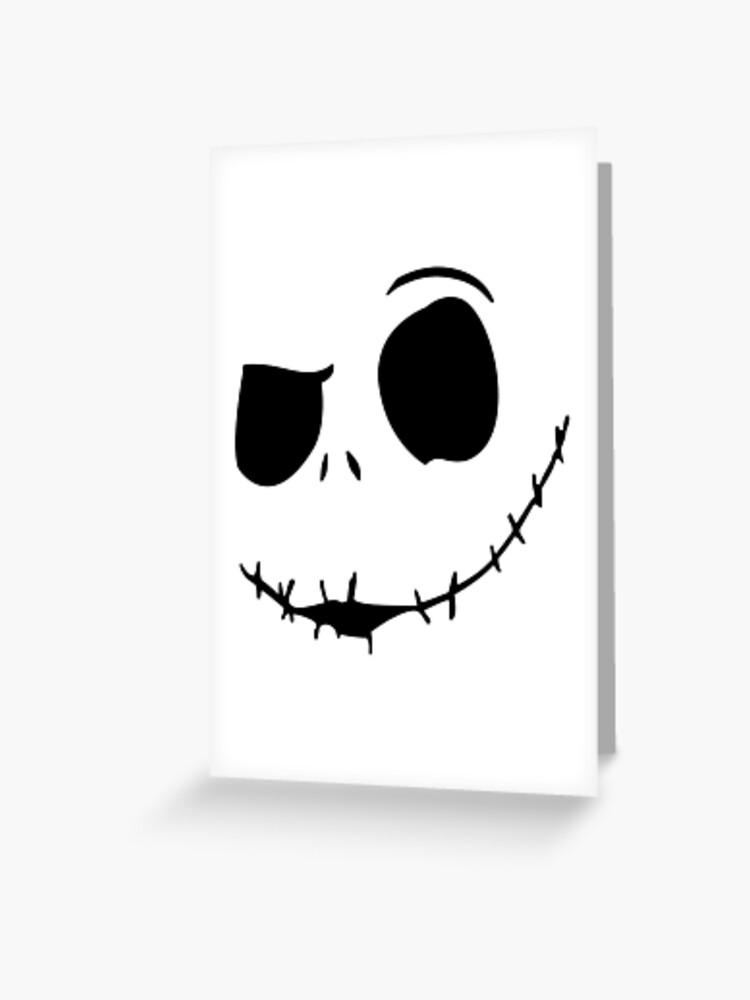 Halloween Joker Card.Halloween Joker Face Greeting Card