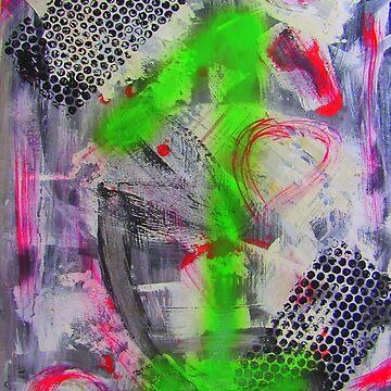 The One - Abstract - Zahl eins - Abstrakt - MW Art von mwart