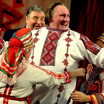 Depardieu Russian Fever by josselinco