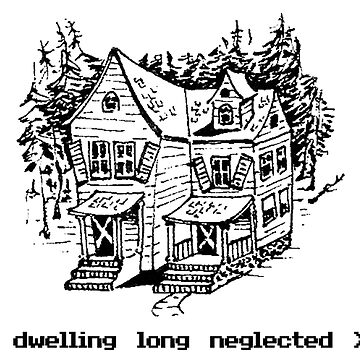 A dwelling long neglected... (Light Tee) by er3733