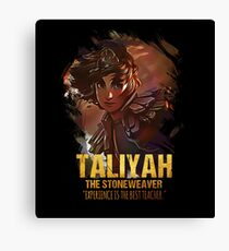 League of Legends TALIYAH - The Stoneweaver Canvas Print
