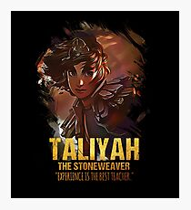 League of Legends TALIYAH - The Stoneweaver Photographic Print