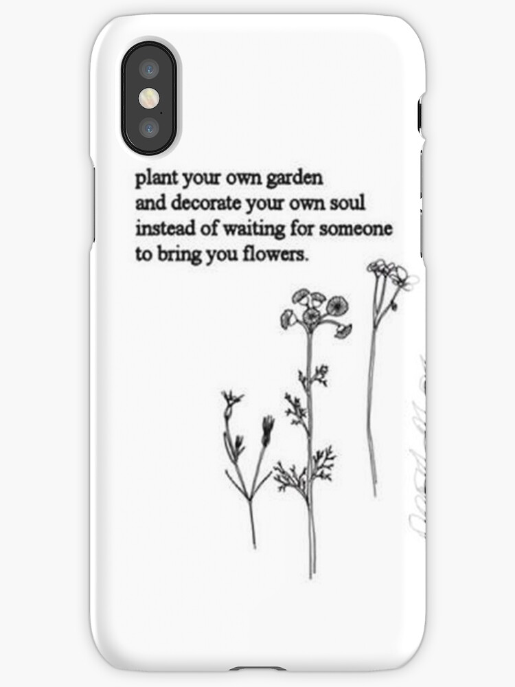Flower poem iphone cases covers by eliselle redbubble flower poem by eliselle mightylinksfo