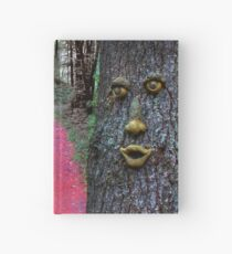 Enter the Enchanted Wood Hardcover Journal