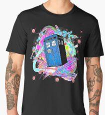 The TARDIS Men's Premium T-Shirt