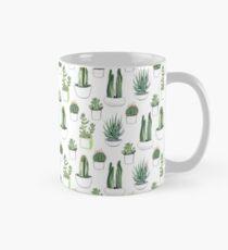 Watercolour cacti & succulents Mug