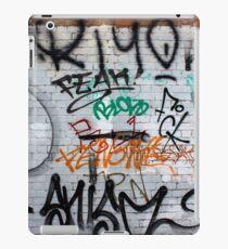 Friday Street Graffiti 5 iPad Case/Skin
