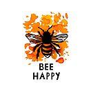 Bee Happy by Mariewsart