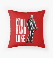 Paul Newman - Cool Hand Luke Throw Pillow