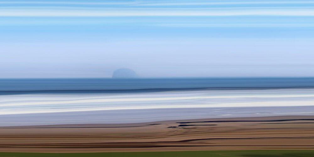 Bass Rock, North Berwick by bluefinart