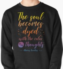 Marcus Aurelius Stoicism Quote - Color of thoughts Pullover