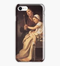 The Thank Offering 1867 William-Adolphe Bouguereau  iPhone Case/Skin