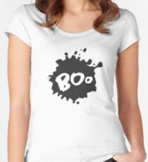 Boo on Blot Women's Fitted Scoop T-Shirt