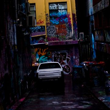 Hosier Lane by SteveStrodder