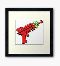 Sci-Fi Ray Gun Framed Print