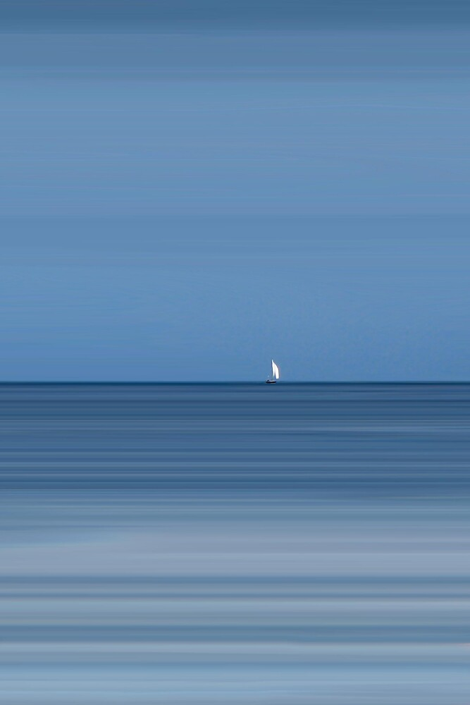 Arran Sailboat by bluefinart