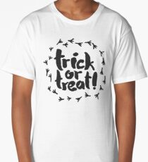 Trick or Treat with Raven Traces Long T-Shirt