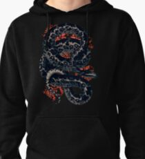 The Cosmic Serpent Pullover Hoodie