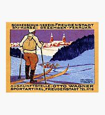 1911 Swiss Ski School Photographic Print