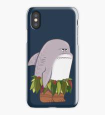 Funny Shark Head Maui iPhone Case/Skin