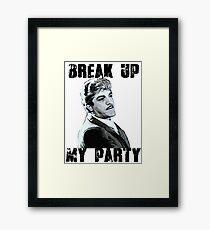 Trenne meine Party - Billy Batts Gerahmtes Wandbild