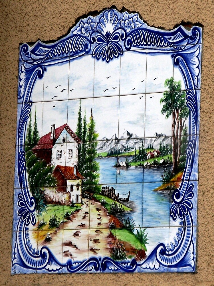 French Mural - Gurgy by Marilyn Harris