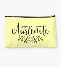 Jane Austen Floral Austenite Studio Pouch