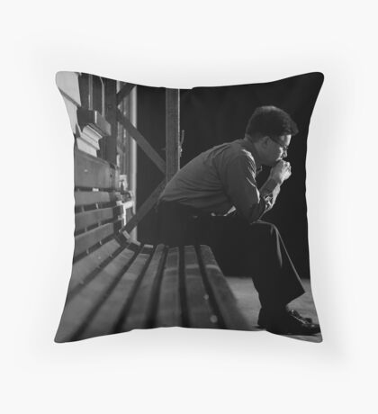 I'm Just Waiting For....... Throw Pillow