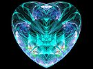 My Heart is Blue Without You  (UF0115) by barrowda