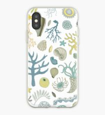Natural Forms - nautical pattern by Cecca Designs iPhone Case