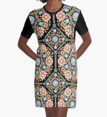 Millefiori Floral Graphic T-Shirt Dress