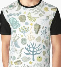 Natural Forms - nautical pattern by Cecca Designs Graphic T-Shirt
